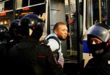 Photo of اعتقال أكثر من مئة شخص في موسكو إثر تظاهرة للمعارضة