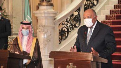 Photo of وزير الخارجية السعودي يؤكد من القاهرة «الدعم الكامل» لمصر في أزمة ليبيا