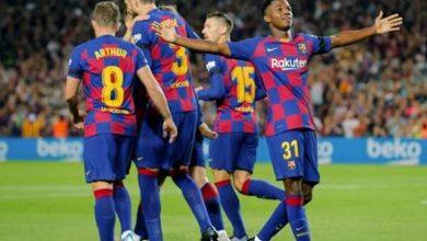Photo of بطولة اسبانيا: برشلونة يقلص الفارق موقتاً عن ريال ويُرسِلُ اسبانيول الى الدرجة الثانية
