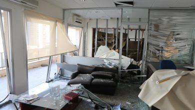 "Photo of مؤسسة ""الاسبوع العربي"" و ""ماغازين"" دمرها الإنفجار الإجرامي"