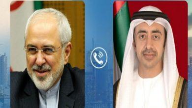 Photo of محادثات نادرة بين وزيري الخارجية الإيراني والإماراتي تناولت مستجدات فيروس كورونا