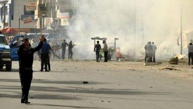 Photo of 20 قتيلاً و40 جريحاً على الاقل في تفجيرين انتحاريين بوسط بغداد