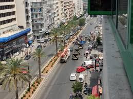 Photo of قطع السير على كورنيش المزرعة وأوتوستراد البداوي