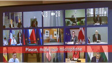 Photo of الاتحاد الأوروبي يعقد اجتماعاً عبر الفيديو للبحث في تهديد كوفيد-19 المتحور