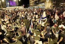 Photo of اشتباكات وحرائق في اسرائيل بين الشرطة ومحتجين واعتقال 13