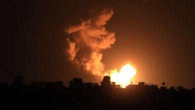 Photo of غارات جوية إسرائيلية فجر اليوم على قطاع غزة