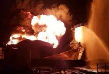 Photo of سوريا: تفجيرات وحرائق تشتعل في صهاريج نفط قرب مصفاة حمص