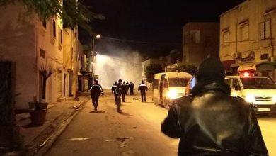 Photo of تونس: اشتباكات عنيفة بين الشرطة ومحتجين: «الشعب يريد إسقاط النظام»