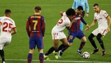Photo of كأس إسبانيا: إشبيلية يهزم برشلونة ويضع قدماً في النهائي