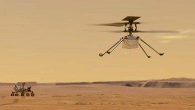 Photo of «ناسا» تجري في مطلع نيسان أول محاولة لطيران مروحية في أجواء المريخ