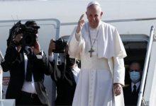 Photo of البابا يغادر العراق بعد زيارة تاريخية