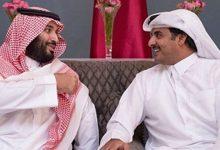 Photo of أمير قطر يجري اتصالاً مع ولي عهد السعودية