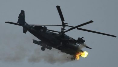 Photo of طائرة هليكوبتر روسية هبطت اضطرارياً في سوريا