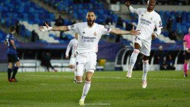 Photo of دوري أبطال أوروبا: ريال مدريد يجدد فوزه على أتالانتا ويتأهل لربع النهائي