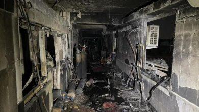 Photo of 82 قتيلاً و110 جرحى في حريق داخل مستشفى في بغداد