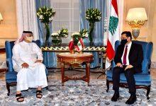 Photo of دياب بدأ لقاءاته في الدوحة باستقبال نائبي رئيس الوزراء القطري خالد العطية ومحمد آل ثاني
