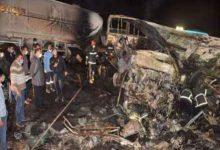 Photo of مصر: مقتل 20 وإصابة 3 في حادث تصادم حافلة وسيارة نقل بمحافظة