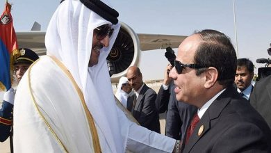 Photo of زعيما مصر وقطر يتبادلان التهنئة بقدوم شهر رمضان