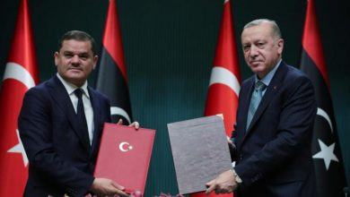 Photo of تركيا وليبيا تجددان تمسكهما بالاتفاق البحري المثير للجدل