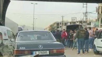Photo of محتجون اعترضوا 4 شاحنات بداخلها بنزين ومازوت مهرب في المحمرة
