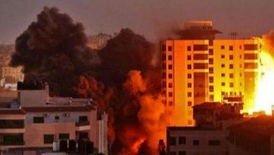 Photo of النزاع الإسرائيلي – الفلسطيني: عشرات الغارات الجوية على قطاع غزة