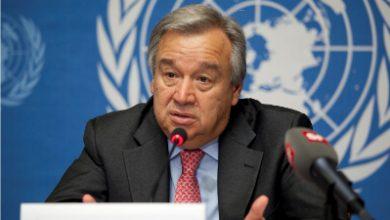 Photo of الامم المتحدة تدعو العالم إلى اعتماد «اقتصاد حرب» لمواجهة كوفيد-19