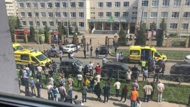 Photo of 9 قتلى على الأقل في إطلاق النار داخل مدرسة في روسيا