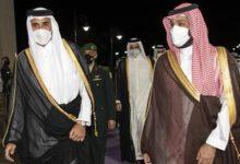 Photo of ولي العهد السعودي يستقبل أمير قطر في جدة ويبحث معه قضايا المنطقة