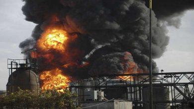 Photo of حريق في مصفاة النفط الرئيسية في حمص