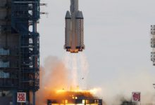 Photo of إقلاع أول رحلة مأهولة إلى المحطة الفضائية الصينية