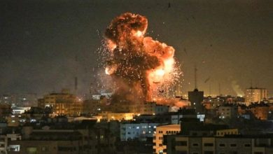 Photo of غارات جوية إسرائيلية على أهداف عدّة في قطاع غزة اشعلتها مسيرة الاعلام الاستفزازية