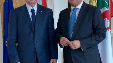 Photo of الجميل ناشد المسؤولين الألمان بلورة برنامج انقاذي للبنان