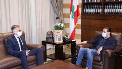 Photo of الحريري التقى القائم بأعمال السفارة الأميركية وبحثا في آخر المستجدات