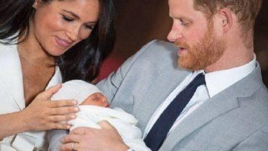 Photo of الأمير هاري وزوجته ميغان ماركل يرزقان بمولود أنثى ويختاران لها اسم ليليبيت