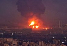 Photo of حريق ضخم في مصفاة نفط جنوب طهران بعد حريق في سفينة