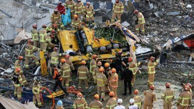 Photo of تسعة قتلى في انهيار مبنى في كوريا الجنوبية