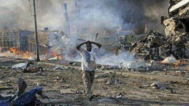 Photo of 15 قتيلاً على الأقل في هجوم انتحاري على معسكر للجيش في الصومال