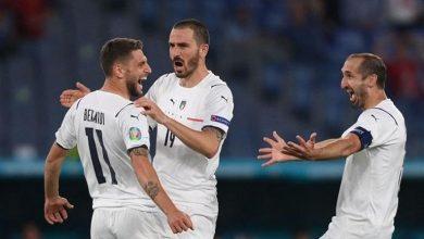Photo of كأس أوروبا: إيطاليا تضرب بالثلاثة مجدداً وتحجز أولى بطاقات ثمن النهائي