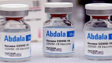 Photo of لقاح «أبدالا» التجريبي الكوبي فعّال بنسبة 92.28% ضدّ كوفيد-19