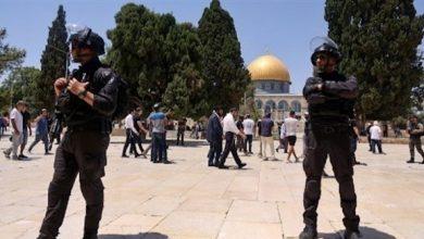 Photo of المستوطنون يقتحمون باحات المسجد الأقصى والرئاسة الفلسطينية تحذر من انفجار