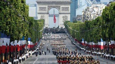 Photo of فرنسا تحيي عيدها الوطني بعرض عسكري في جادة الشانزليزيه