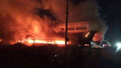 Photo of مصرع 64 شخصاً على الأقل في حريق بمركز لعزل مرضى كورونا بجنوب العراق