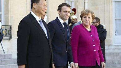 Photo of ماكرون وميركل يبحثان مع جينبينغ العلاقات الأوروبية الصينية والتحديات المناخية والصحية