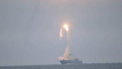 Photo of روسيا اختبرت صاروخاً أسرع من الصوت من على متن سفينة