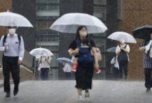 Photo of عاصفة استوائية تلامس اليابسة شمال اليابان