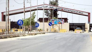 Photo of الأردن يغلق معبر جابر الحدودي مع سوريا