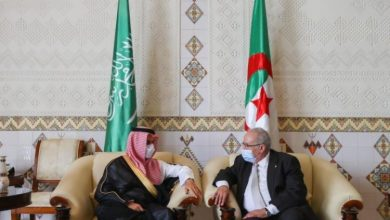 Photo of الجزائر والسعودية تناقشان التنسيق داخل أوبك وقضايا إقليمية ودولية
