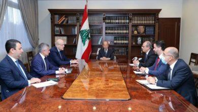 Photo of عون إطلع من ميقاتي على نتائج زيارته الى باريس وترأس اجتماعاً حول مفاوضات صندوق النقد