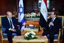 Photo of السيسي يبلغ بينيت تأكيد مصر على حل الدولتين واعمار غزة