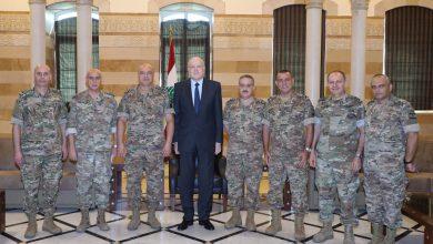 Photo of ميقاتي التقى قائد الجيش على رأس المجلس العسكري